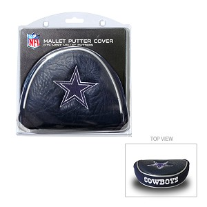 Dallas Cowboys Mallet Golf Putter Cover