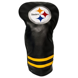 Pittsburgh Steelers Vintage Golf Driver Head Cover