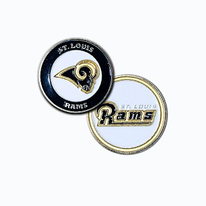 Los Angeles Rams Double Sided Ball Marker