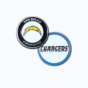 Los Angeles Chargers Double Sided Ball Marker