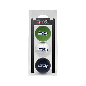 Seattle Seahawks 3 Ball Clamshell
