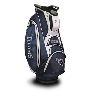 super cute d3be8 c7d65 Tennessee Titans NFL Team Victory Golf Cart Bag