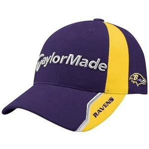5b5df37c Baltimore Ravens NFL Logo TaylorMade Nighthawk Hat / Cap