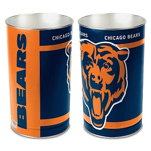 Chicago Bears NFL Waste Basket