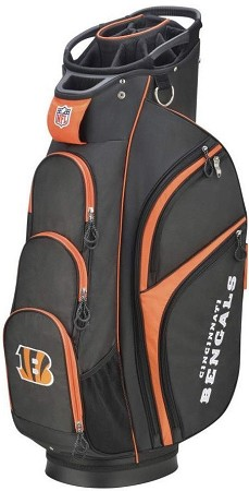 Cincinnati Bengals Wilson NFL Golf Cart Bag