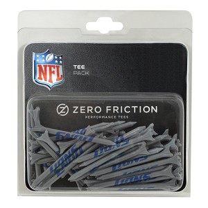 Detroit Lions Zero Friction 50 Tee Pack